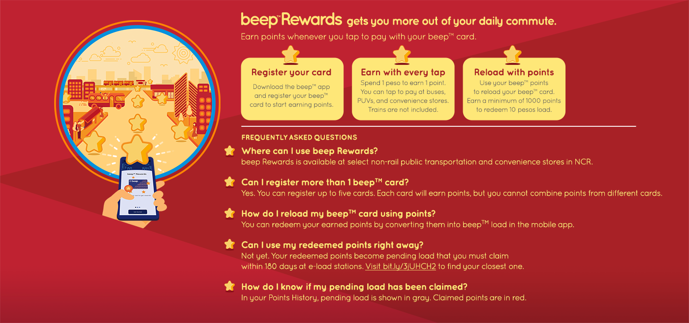 You Can Earn Load Through Beep S New Reward System We The Pvblic